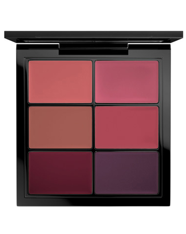 PRO Lip Palette / 6 Select Plums