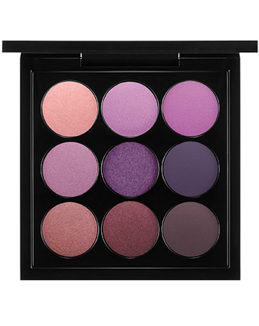 Eye Shadow X 9: Purple Times Nine