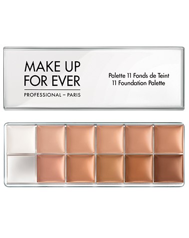 11 Foundation Palette