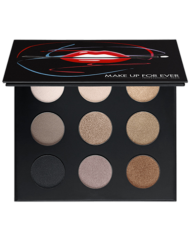9 Artist Shadow Palette